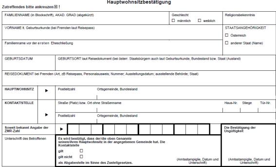 Ris Meldegesetz 1991 Bundesrecht Konsolidiert Fassung Vom 31 03 2017