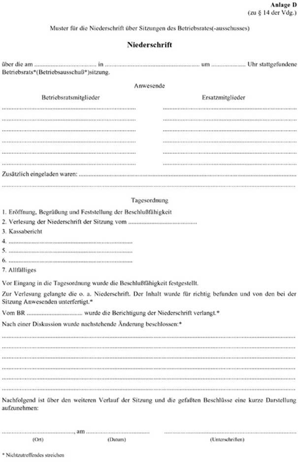 Ris Oo Landwirtschaftliche Betriebsratsgeschaftsordnung 1977 V Landesrecht Konsolidiert Oberosterreich Fassung Vom 31 12 2019